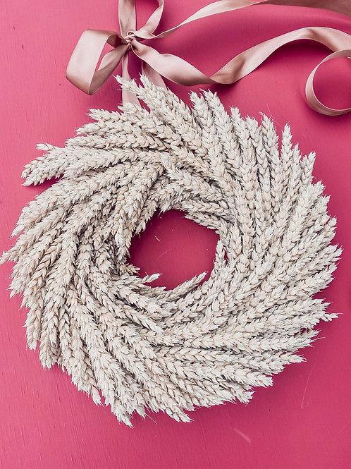Simple Wheat Wreath
