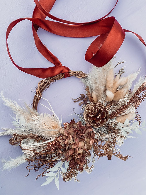Festive Twig Mini Wreath