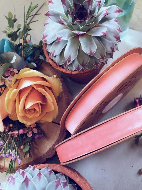 Pink Velvet ribbon