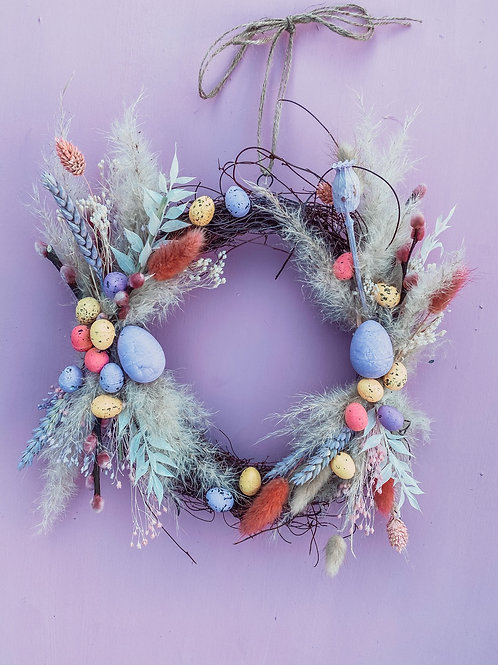 Easter Brights Wreath
