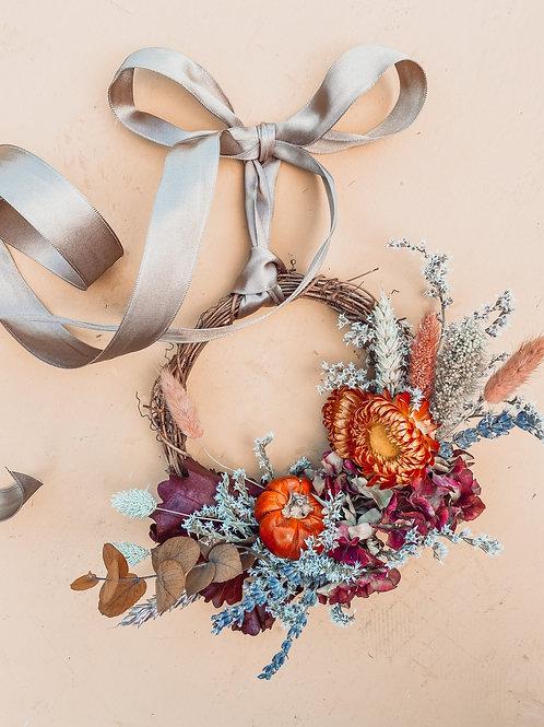 Pumpkin Spice Mini Wreath