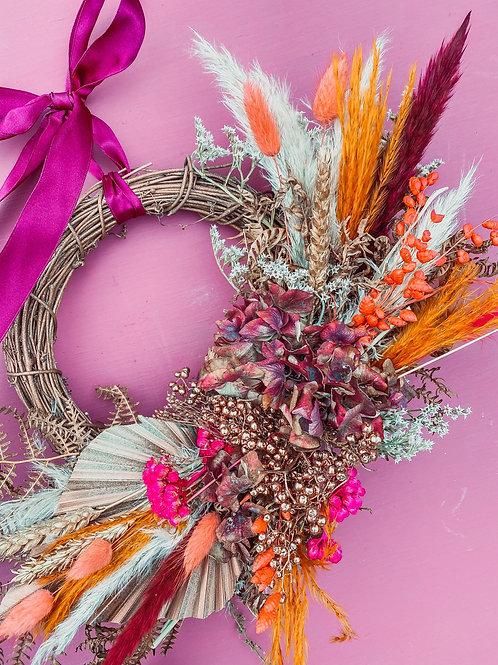 BoHo Bronze Mini Wreath