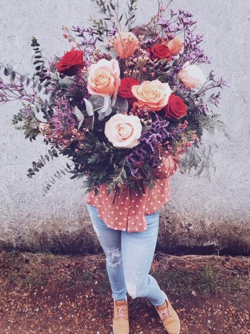 Bohemian Rose Bouquet