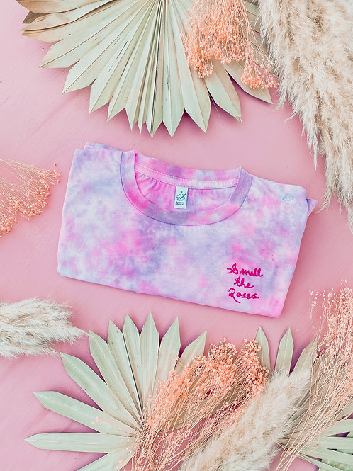 Smell The Roses T Shirt