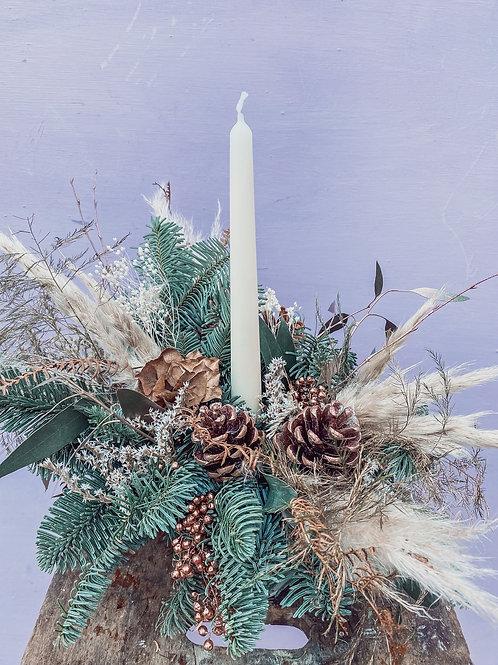 Sugarplum Fairy Candle Pot