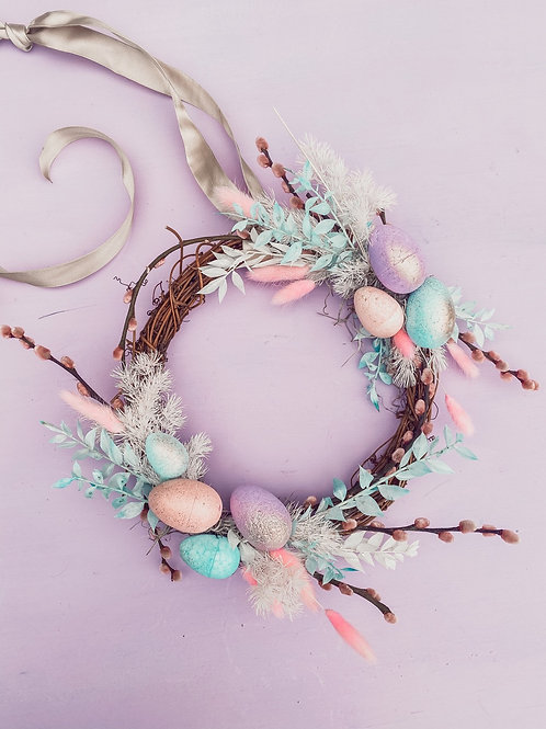 Pastel Lovin Easter Wreath