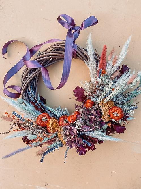 Pumpkin Patch Wreath