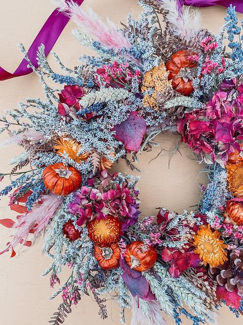 Warm Hedgerow Wreath 50cm