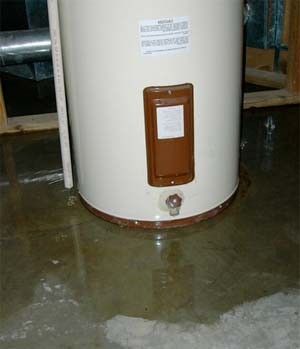 Burst Hot Water Heater Claims