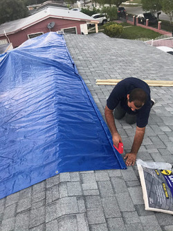 Roof Leak Damage and Mitigation Claims