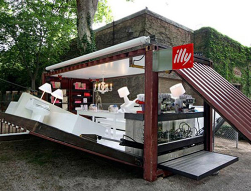 Illy Pop Up Store
