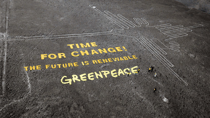 Ambush Marketing: Greenpeace