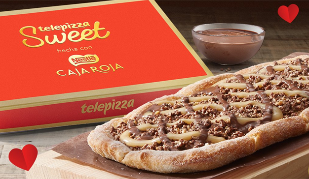 Telepizza y su pizza de chocolate
