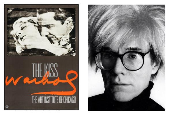 El Beso 1966 Andy Warhol