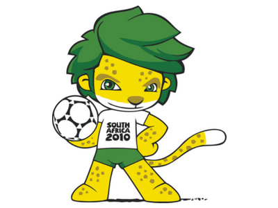 Zakumi; Mundial de Sud África 2010