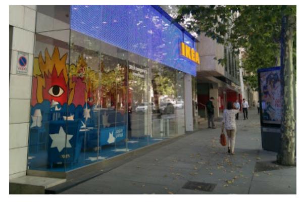 Ikea formato chico en Madrid