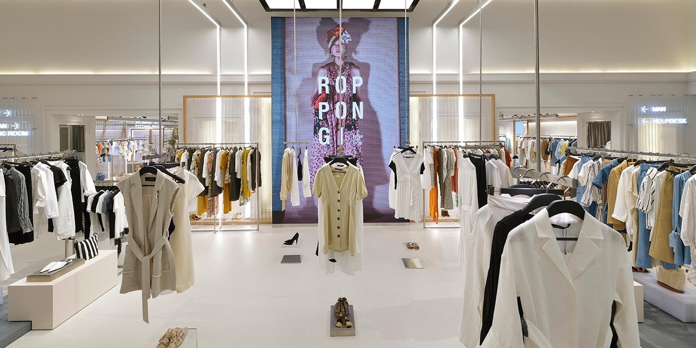 Zara, Roppongi Hills Pop Up