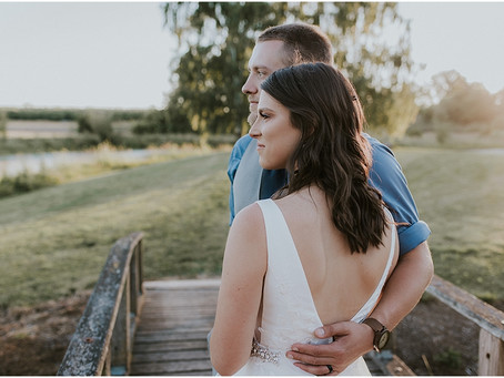 Kelsey and Josh: Gallon House Bridals