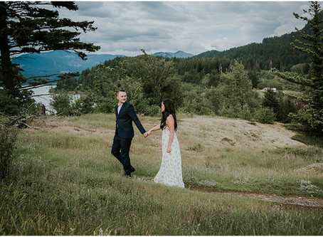 Monica and Matt: A Gorge Engagement