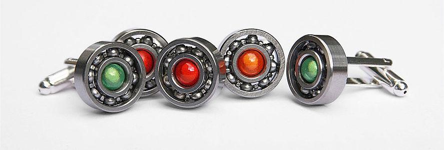 watch movement cuff links, unique and bespoke designs, steampunk
