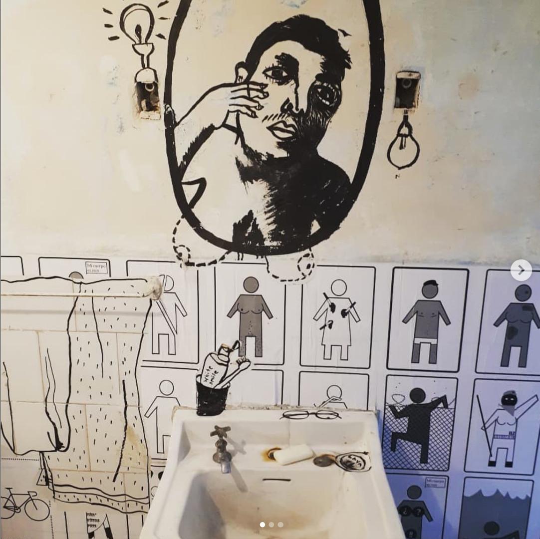 Coco Guzman, Ver O No Ver (To See Or Not To See), Installation, Arsenal Habana, XIII Havanna Bienale, Cuba, 2019