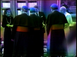 Meeting with Pope John Paul II, 1987