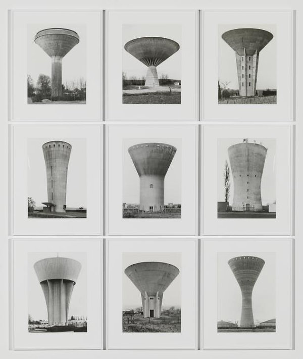 Bernd Becher and Hilla Becher. Water Towers