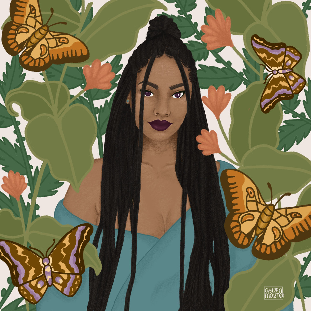 Queen, Ilustración Digital, Julio 2020