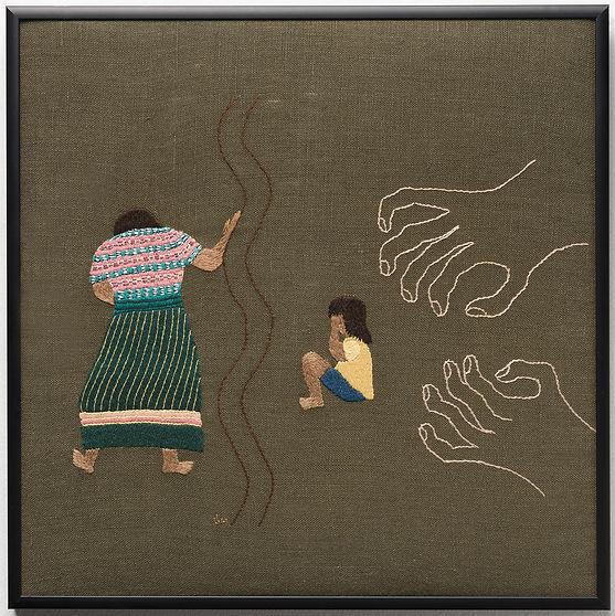 Zero Tolerance_2018_Hand embroidery_Seal