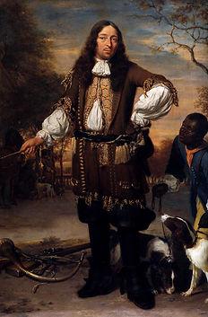 """Jan Verkolje, Portrait of Johan de la Faille, oil on copper.11.8"""" x 16.1"""". 1674"""