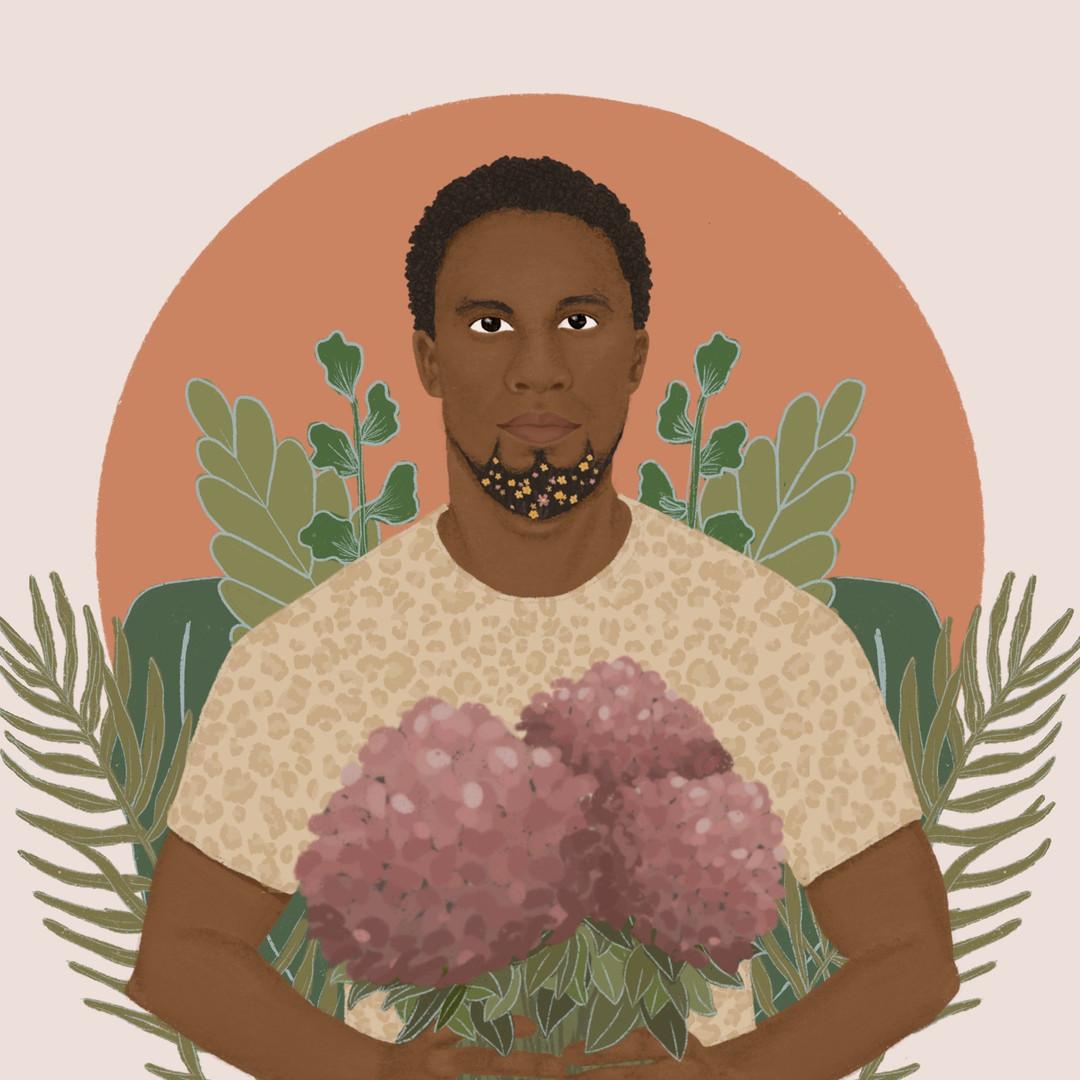 Black Love, Ilustración Digital, Noviembre 2019. 2019