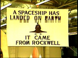 Remarks at Rockwell plant, 1982