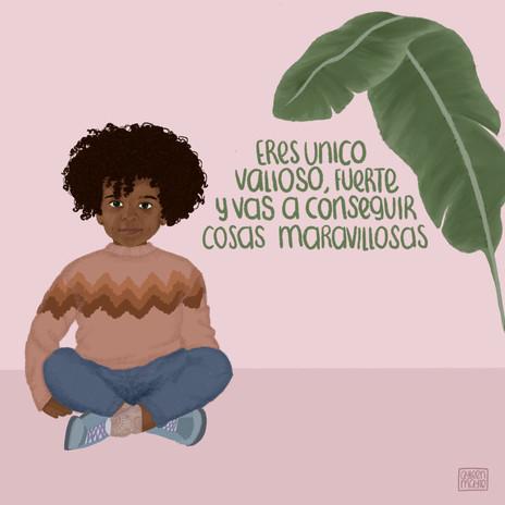 Nuestra Niñez, Ilustración Digital, Septiembre 2019