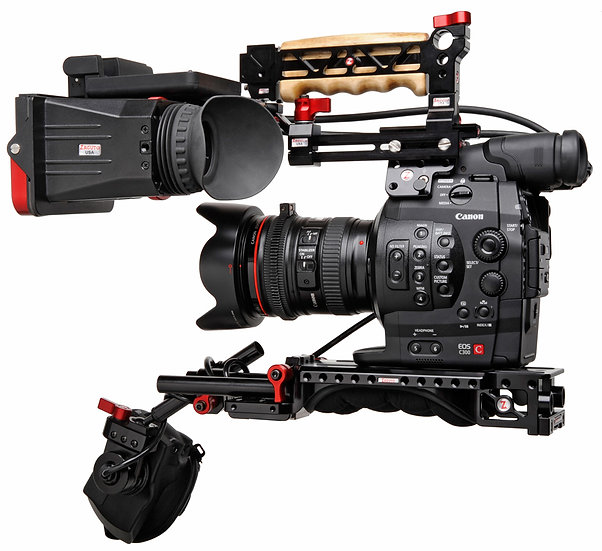 Canon C300 Mark II with Zacuto Kit
