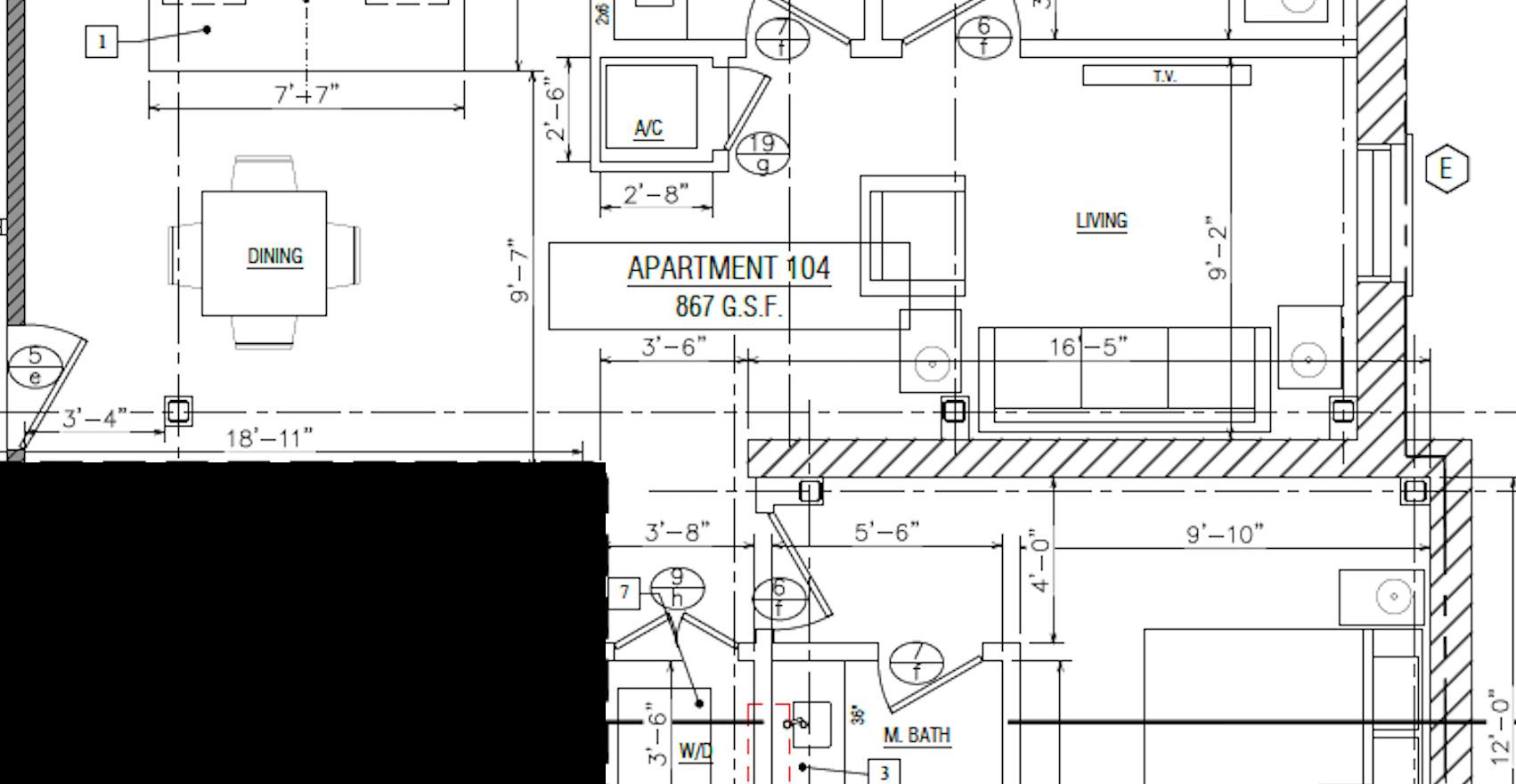 Apartment 104