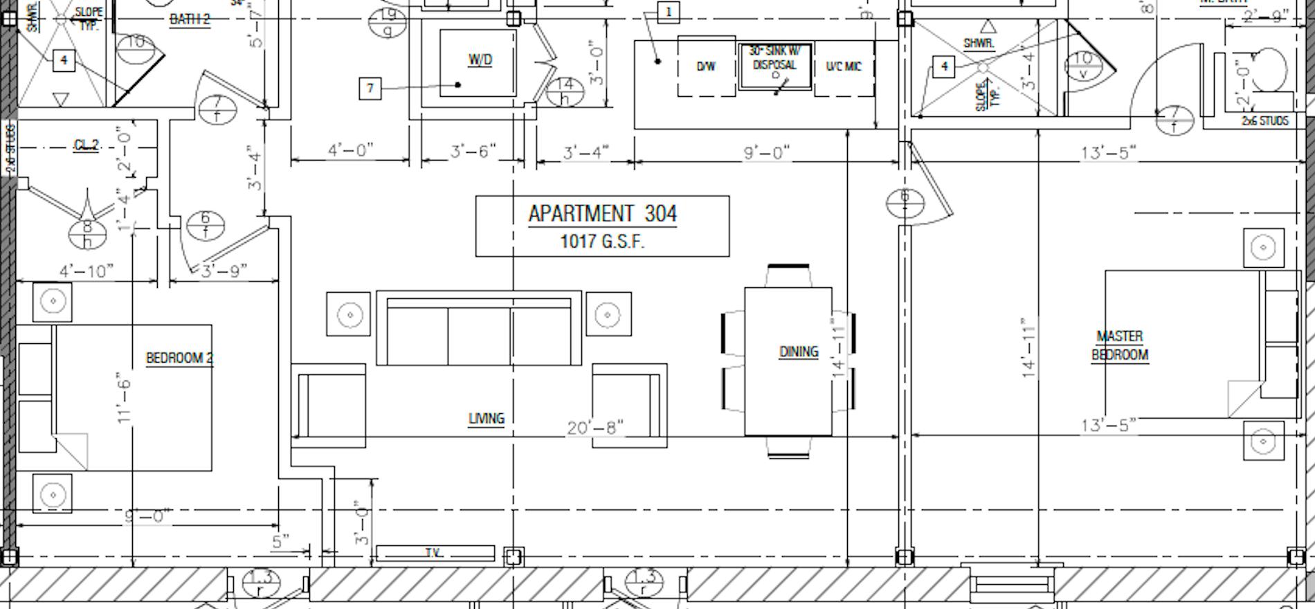 Apartment 304