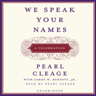 Book: We Speak Your Names: A Celebration