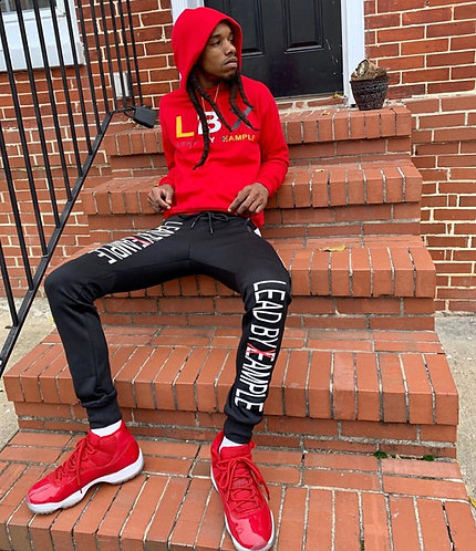 Red Standout Hoodie