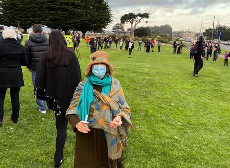 Ruth Bader Ginsburg Vigil in City of Monterey