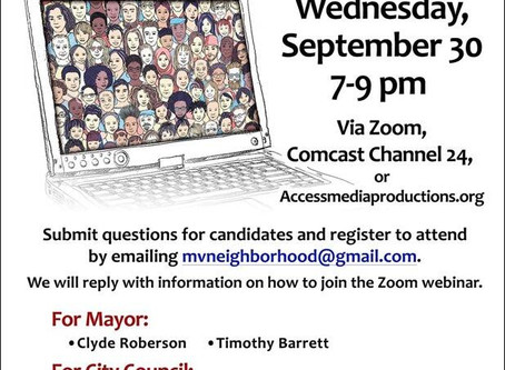 Monterey Hosts a Forum for 7 Councilmember and Mayoral Candidates