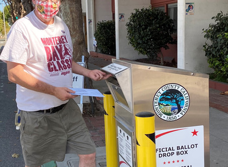 Alan Haffa Casts Vote for Measure Y and V and Mayor Clyde
