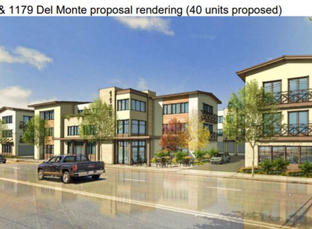 Monterey Oct. 20 Agenda Highlights Include New Housing Proposals