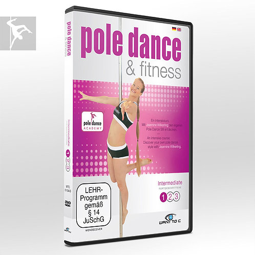 Pole Dance & Fitness DVD – Intermediate 1