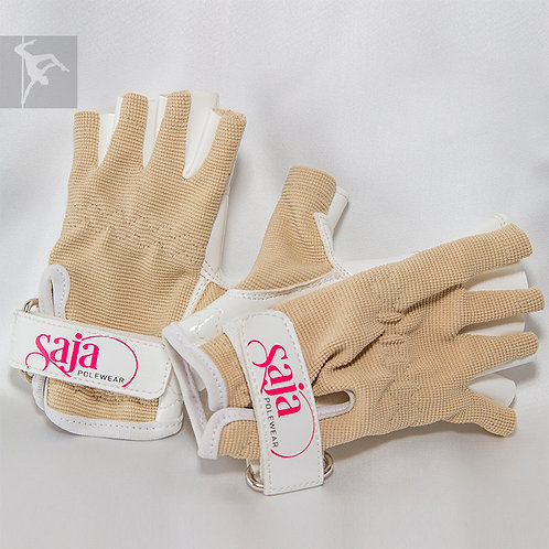 Saja Handschuhe Nude Limited Edition
