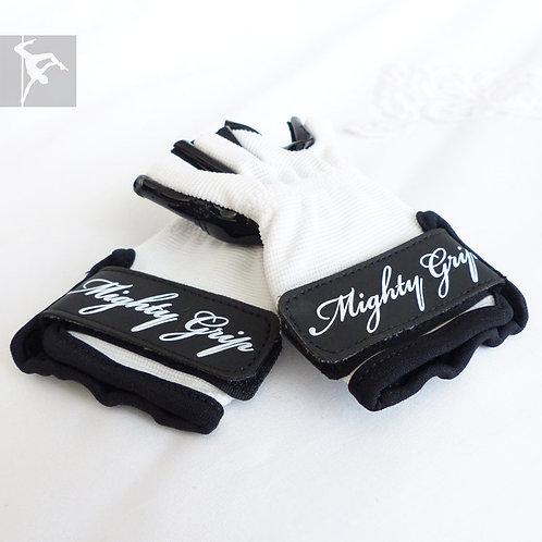 Mighty Grip Handschuhe Weiß - Lack