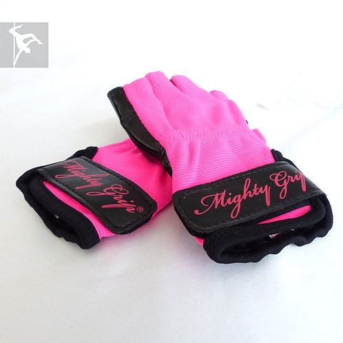 Mighty Grip Handschuhe Pink - Lack