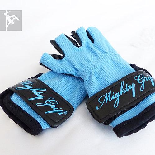 Mighty Grip Handschuhe Blau - Lack