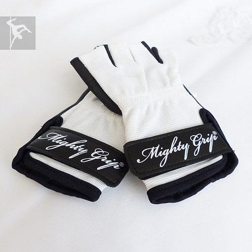 Mighty Grip Handschuhe Weiß - Leder