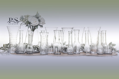 Clear Misc. Vases