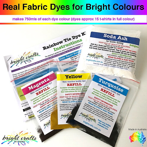 Rainbow Tie Dye Kit REFILL